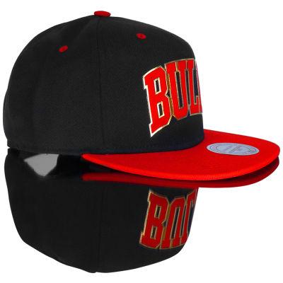 Mitchell And Ness Bulls Metal Detaylı Snapback Cap Şapka