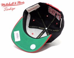 Mitchell And Ness - Chicago Bulls Basic Snapback Cap - Thumbnail