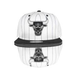 Mitchell And Ness - Mitchell And Ness Chıcago Bulls Siyah Çizgili Snapback Cap Şapka