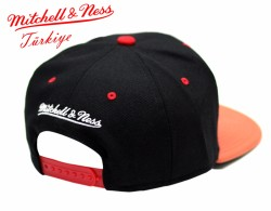 Mitchell And Ness - Chicago Bulls Turuncu Snapback Cap - Thumbnail