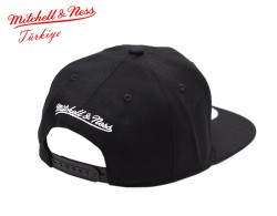 Mitchell And Ness Heat Siyah Snapback Cap - Thumbnail