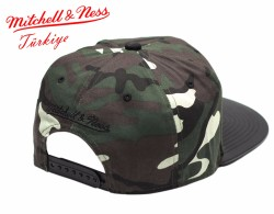 Mitchell And Ness Kamuflaj Desen Miami Heat Snapback Cap - Thumbnail