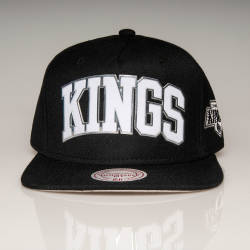 Mitchell And Ness - Mitchell And Ness Kings Siyah Snapback Cap