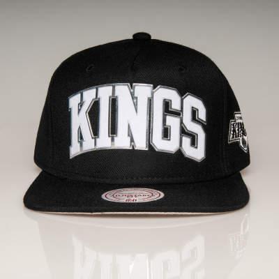 Mitchell And Ness Kings Siyah Snapback Cap