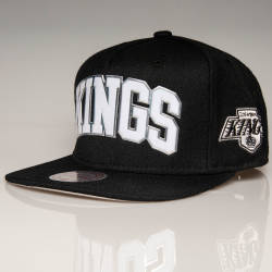Mitchell And Ness - Mitchell And Ness Kings Siyah Snapback Cap (1)