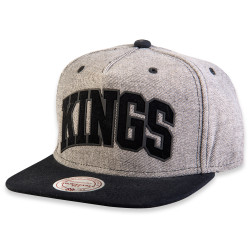 Mitchell And Ness - Mitchell And Ness Kings Gri Ve Siyah Snapback Cap