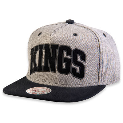 Mitchell And Ness Kings Gri Ve Siyah Snapback Cap