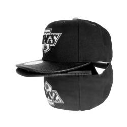 Mitchell And Ness Los Angeles Kings Siyah Snapback Cap - Thumbnail