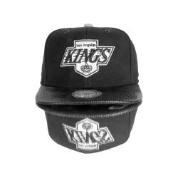 Mitchell And Ness - Mitchell And Ness Los Angeles Kings Siyah Snapback Cap