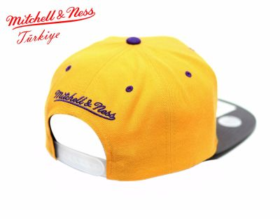 Mitchell And Ness Los Angeles Lakers Sarı Snapback Cap