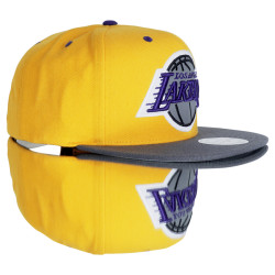 Mitchell And Ness Los Angeles Lakers Sarı Snapback Cap - Thumbnail