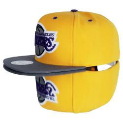Mitchell And Ness Los Angeles Lakers Sarı Snapback Cap - Thumbnail