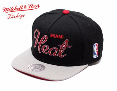 Mitchell And Ness Miami Heat Snapback Cap