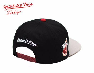 Mitchell And Ness Miami Heat Snapback Cap