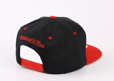 Mitchell And Ness Miami Siyah Ve Kırmızı Snapback Cap