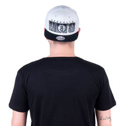 Mitchell And Ness - Mitchell And Ness - Nets Beyaz Snapback Cap (1)