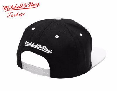 Mitchell And Ness - Nets Siyah Beyaz Snapback Cap