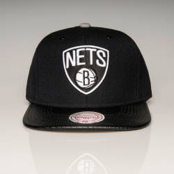 Mitchell And Ness - Mitchell And Ness - Nets B Siyah Snapback Cap (1)