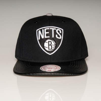Mitchell And Ness - Nets B Siyah Snapback Cap