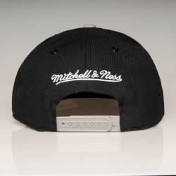 Mitchell And Ness - Nets B Siyah Snapback Cap - Thumbnail