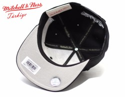 Mitchell And Ness Nets Siyah Snapback Cap - Thumbnail