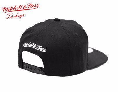 Mitchell And Ness Nets Siyah Snapback Cap