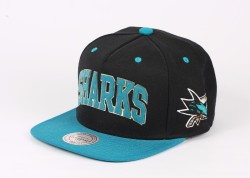 Mitchell And Ness - Mitchell And Ness Sharks Turkuaz Snapback Cap
