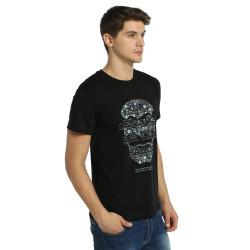 Bant Giyim - Mr. Robot Anonymous Siyah T-shirt - Thumbnail