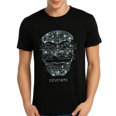 Bant Giyim - Mr. Robot Anonymous Siyah T-shirt