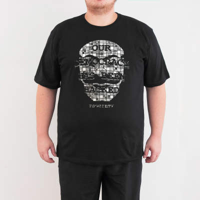 Bant Giyim - Mr. Robot Anonymous 4XL Siyah T-shirt