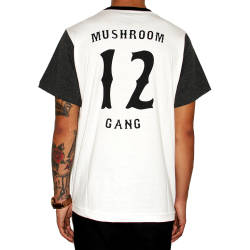 Mushroom Jersey 12 Gang Antrasit T-shirt - Thumbnail