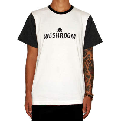Mushroom Jersey 12 Gang Antrasit T-shirt