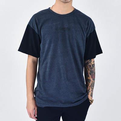 Mushroom Anthracite & Black T-shirt