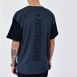 Mushroom - Mushroom Anthracite & Black T-shirt