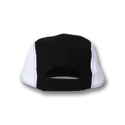 Mushroom Black & White 5-Panel Şapka Cap