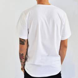 Mushroom Buca Hand Sign Beyaz T-shirt - Thumbnail