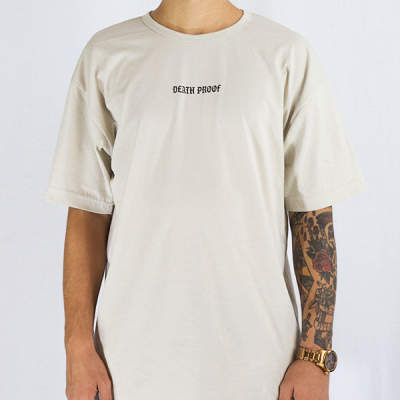 Mushroom Death Proof Khaki T-shirt