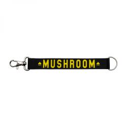 Mushroom - Mushroom - Keychain Black & Yellow Anahtarlık
