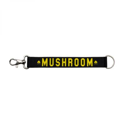 Mushroom - Keychain Black & Yellow Anahtarlık