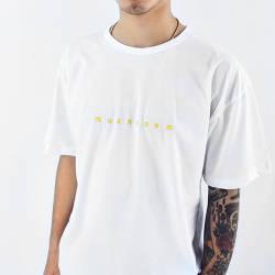 Mushroom - Mushroom Logo Embroidered Beyaz T-shirt
