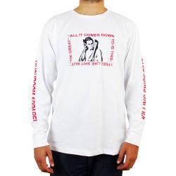 Mushroom - Mushroom Psycho Beyaz Uzun Kollu T-shirt