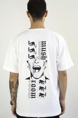 Mushroom Psycho II Beyaz T-shirt Tişört