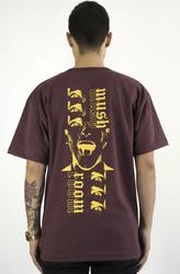 Mushroom - Mushroom Psycho II Bordo T-shirt Tişört