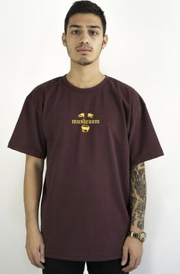 Mushroom Psycho II Bordo T-shirt Tişört
