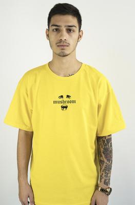 Mushroom Psycho II Sarı T-shirt Tişört