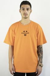 Mushroom Psycho II Turuncu T-shirt Tişört - Thumbnail