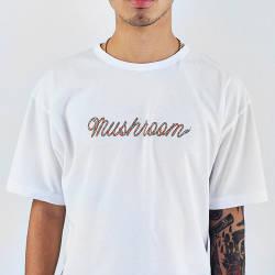 Mushroom - Mushroom Snake Beyaz T-shirt