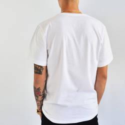 Mushroom Snake Beyaz T-shirt - Thumbnail