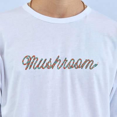Mushroom Snake Beyaz T-shirt
