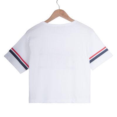 Brooklyn NYC Kadın Beyaz T-shirt